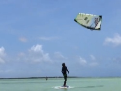 Bonaire Flow Windsurf Video with Caesar Finies